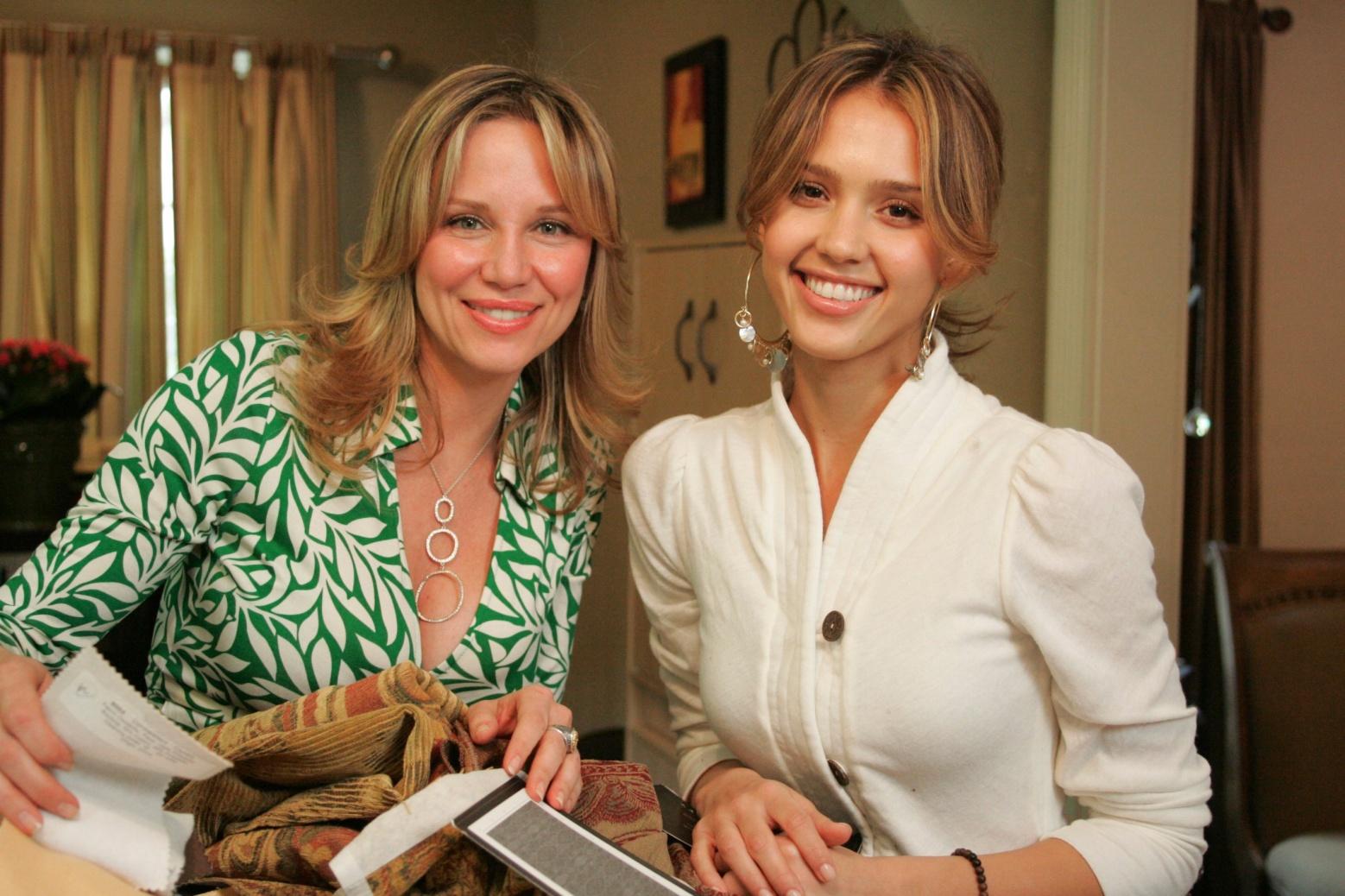... Kari Whitman And Jessica Alba