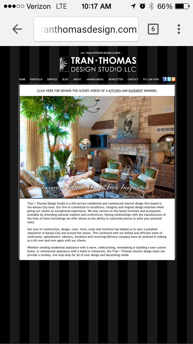 Free Responsive Websites For Interior Designers The Chaise Lounge With Design