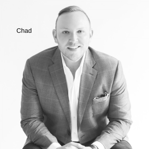 73 – Chad James: An Interior Designer who found his Happy Place.