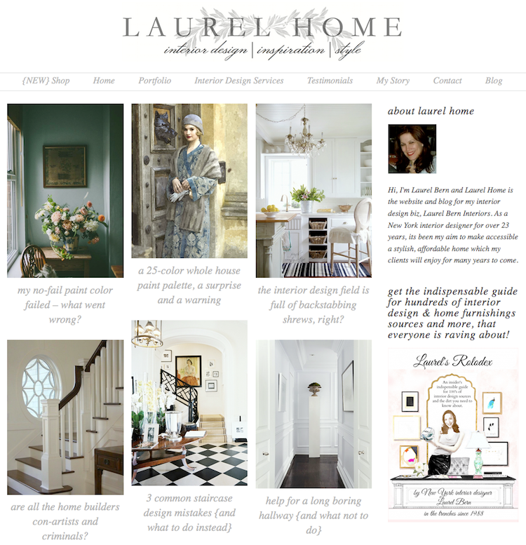 Laurel website