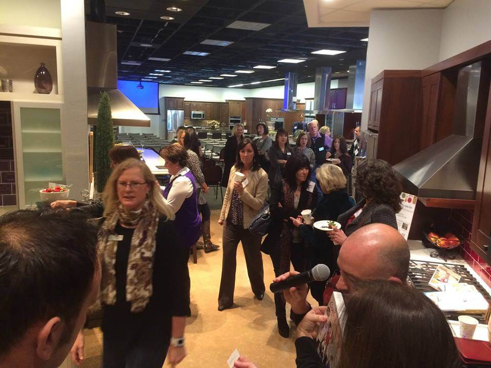 Talk To Our Designers We Were Host The Event At Builders Appliance Center Known In Denver As BAC A Large Luxury Kitchen Showroom