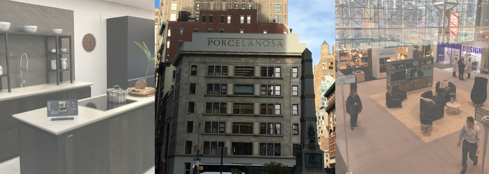 Porcelenosa showroom in New York