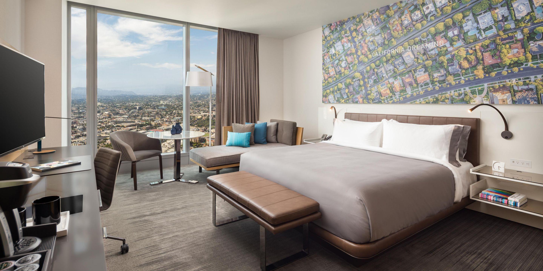 Beau Intercontinental Hotel Los Angeles, Designed By Amy Jakubowski And Wilson  Associates